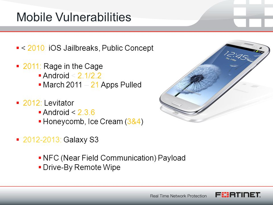 Mobile Vulnerabilities