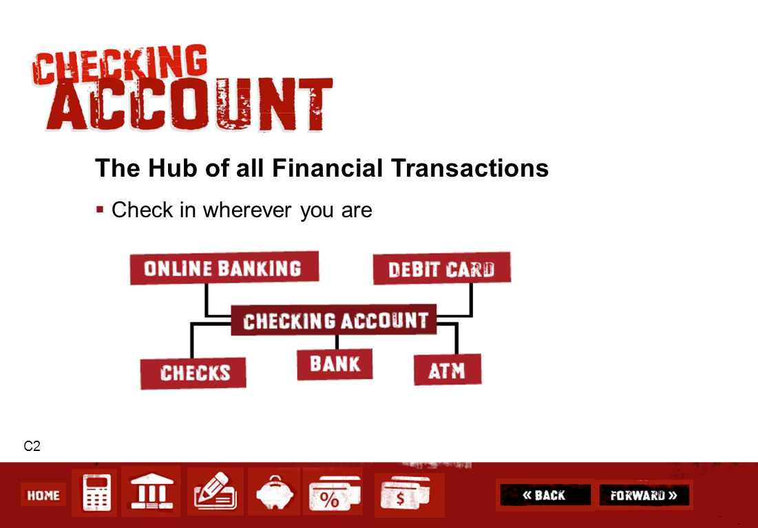 The Hub of all Financial Transactions