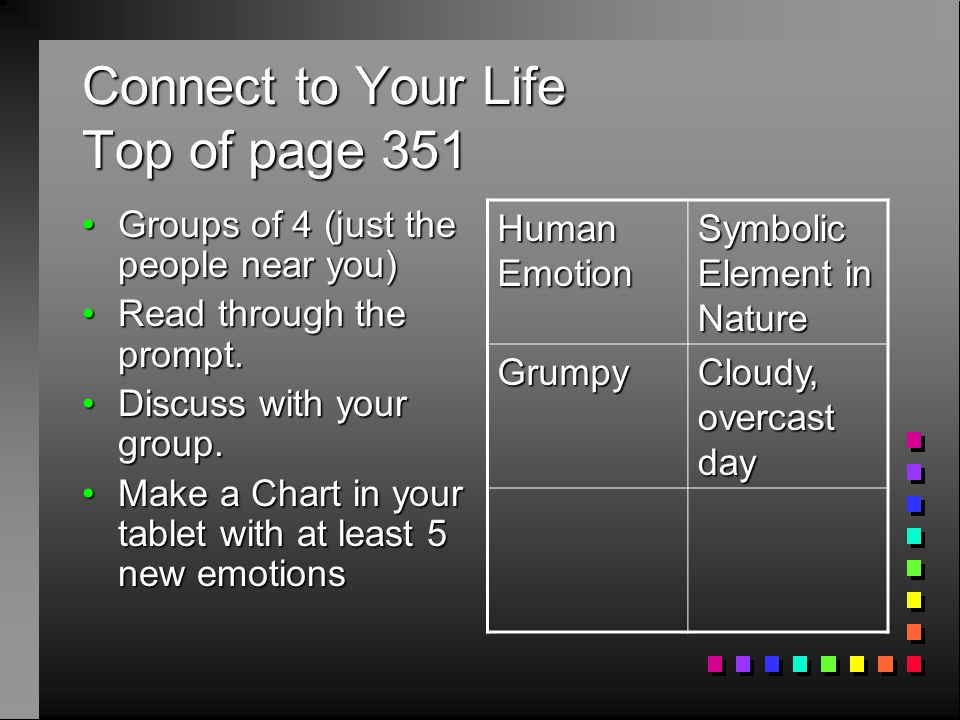 Connect to Your Life Top of page 351