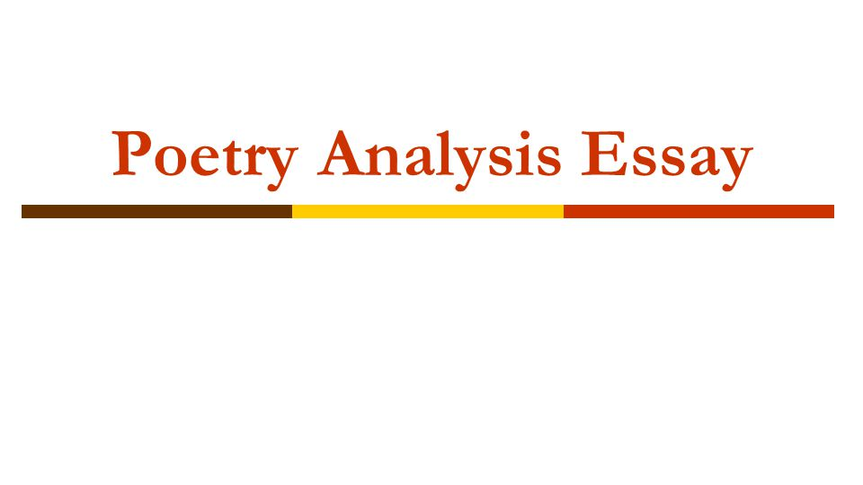 poetry analysis essay ppt video online  1 poetry analysis essay