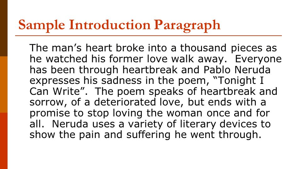 introduction associated with love essay