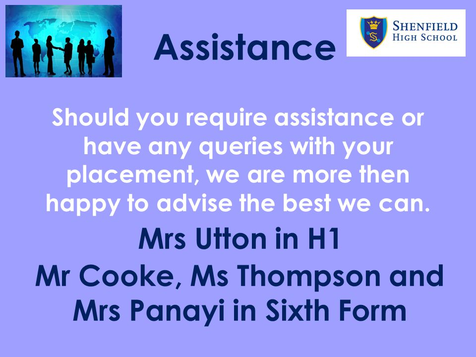 Mr Cooke, Ms Thompson and Mrs Panayi in Sixth Form