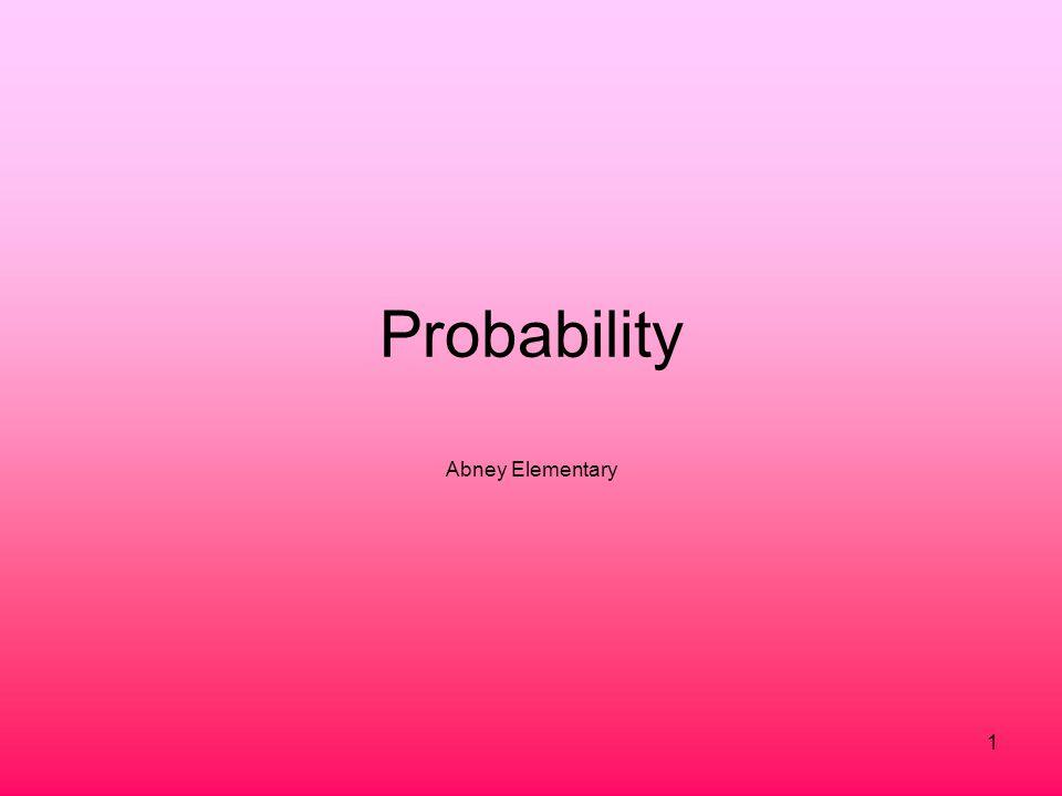 Probability Abney Elementary