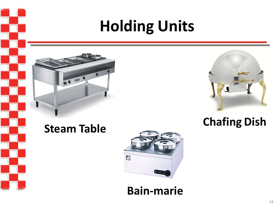 Holding Units Chafing Dish Steam Table Bain-marie