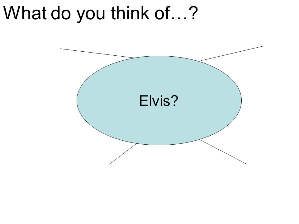 What do you think of… Elvis