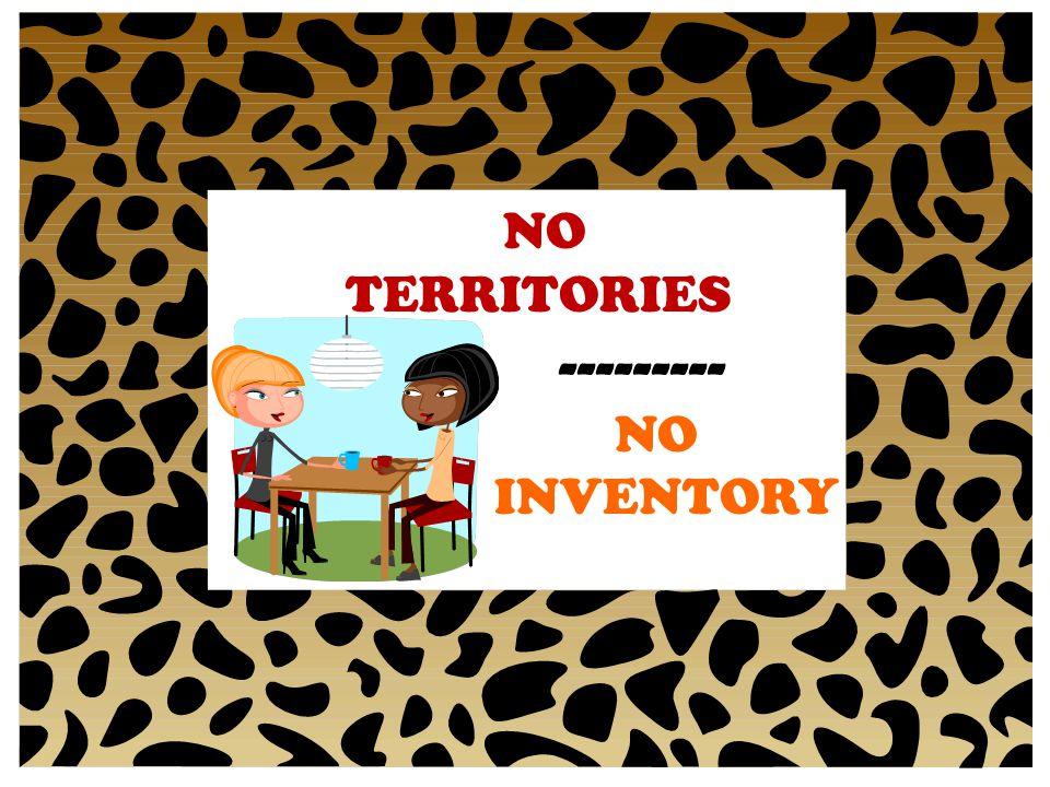 NO TERRITORIES --------- INVENTORY