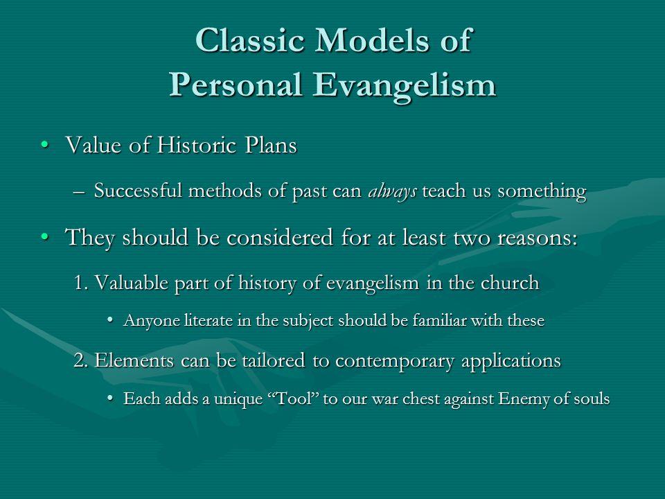 Classic Models of Personal Evangelism