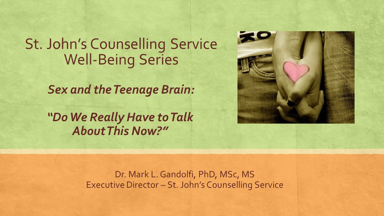 St. John's Counselling Service Well-Being Series