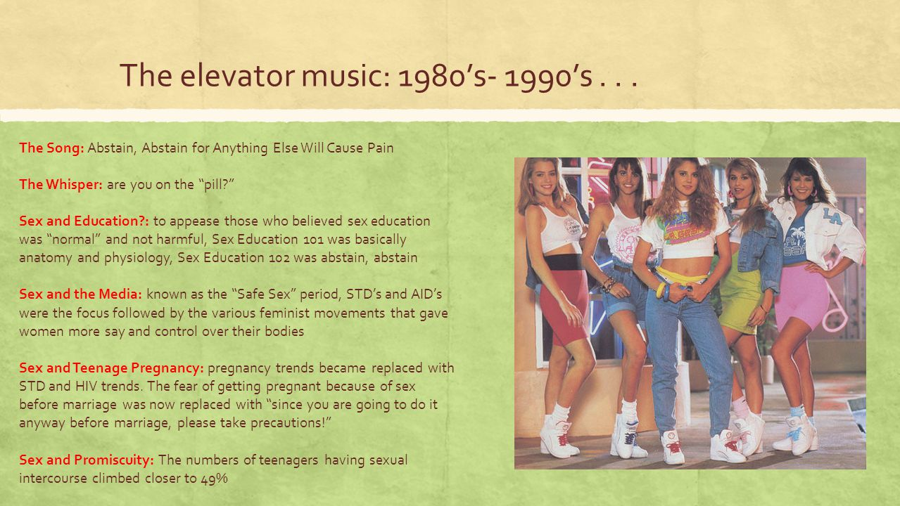 The elevator music: 1980's- 1990's . . .