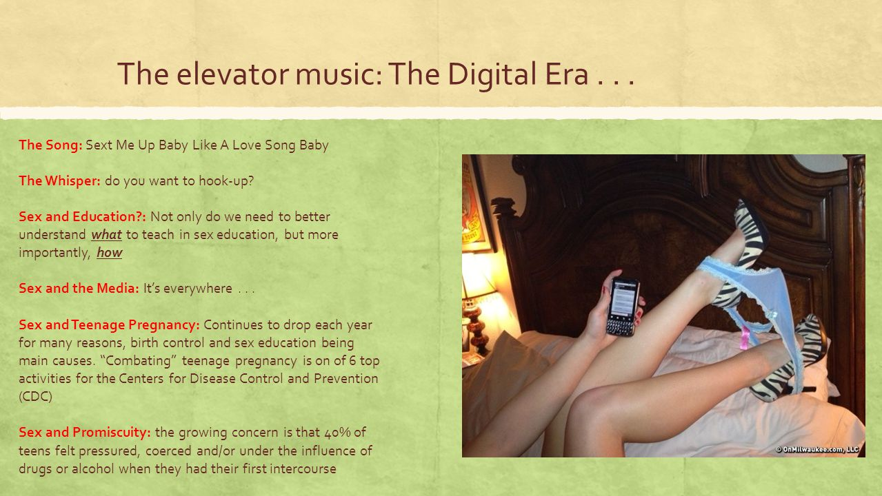 The elevator music: The Digital Era . . .