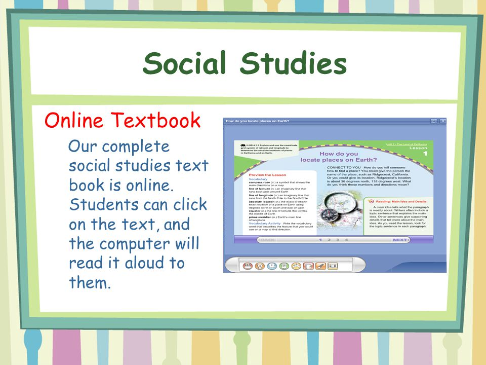 Social Studies Online Textbook
