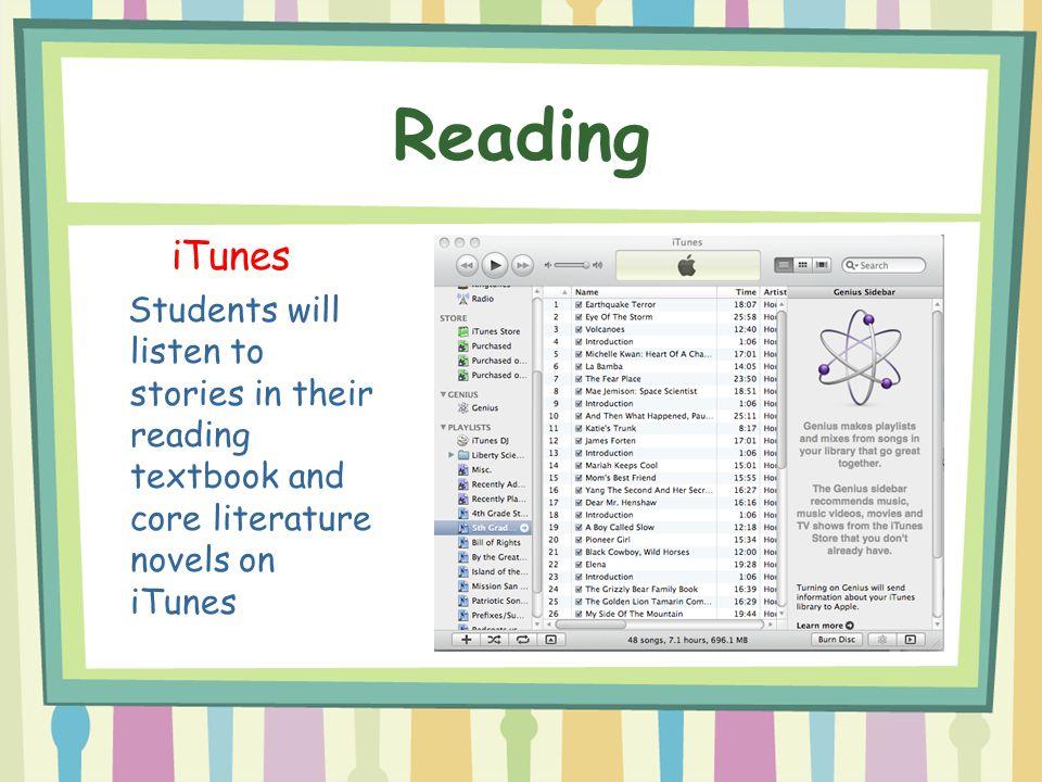 Reading iTunes.