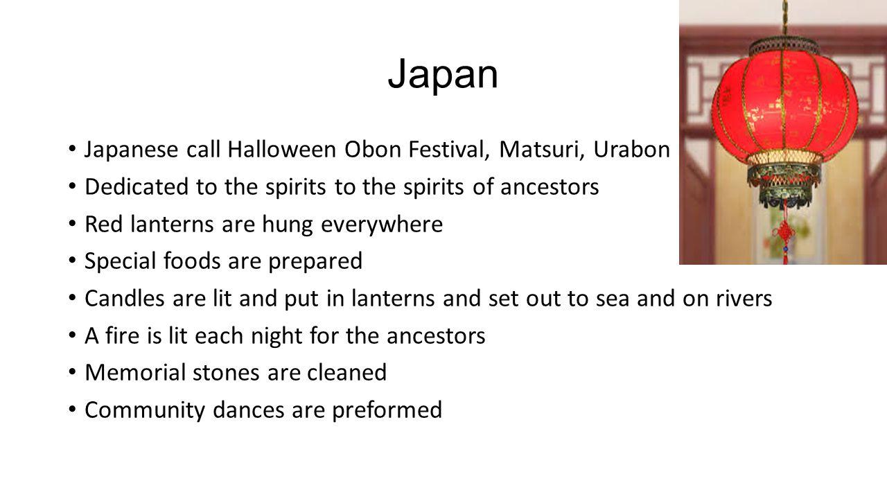 Japan Japanese call Halloween Obon Festival, Matsuri, Urabon
