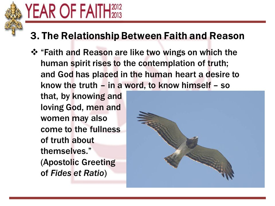 3. The Relationship Between Faith and Reason