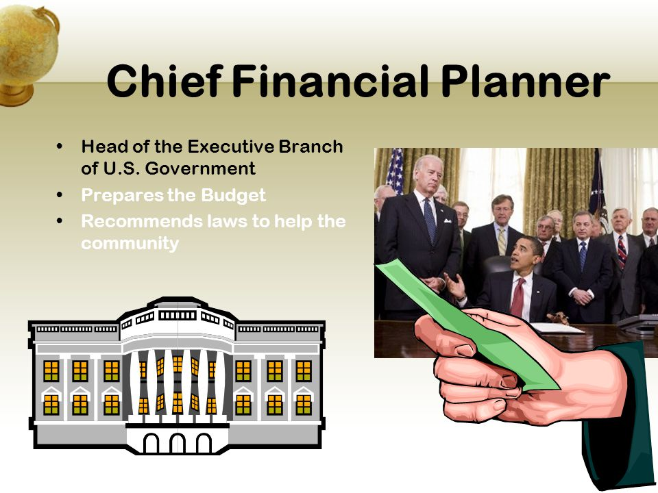 Chief Financial Planner