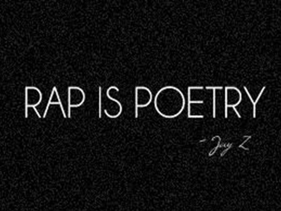 Poetic Rap