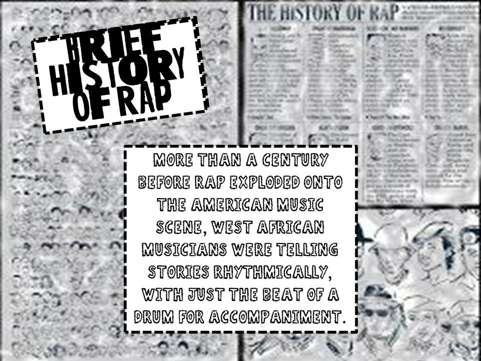 Brief History Of Rap