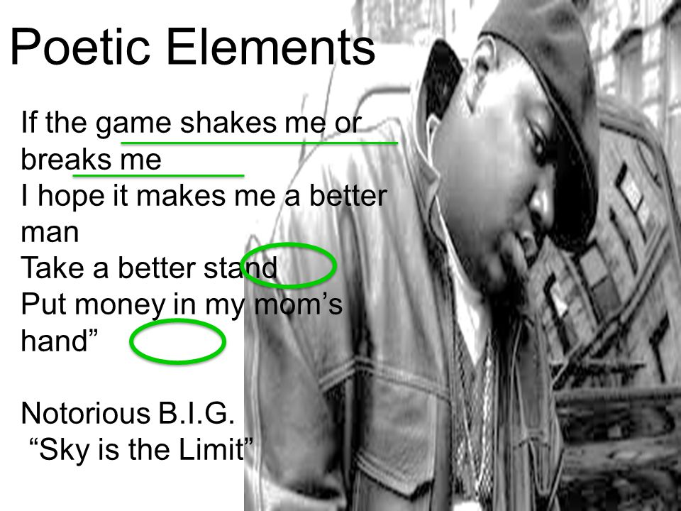 Poetic Elements If the game shakes me or breaks me