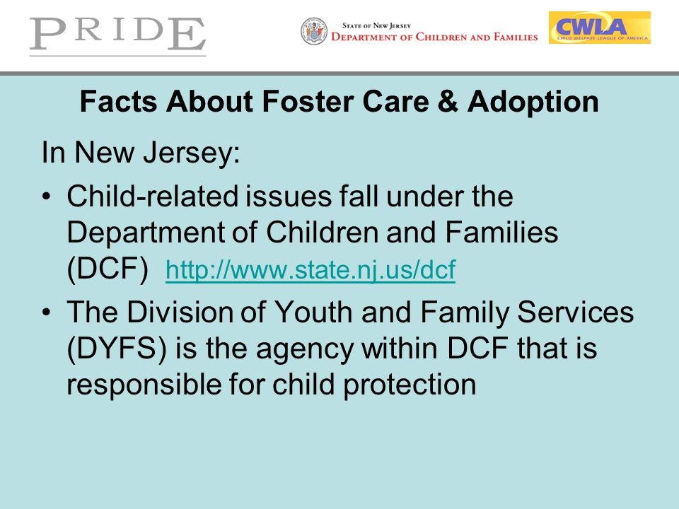 Facts About Foster Care & Adoption