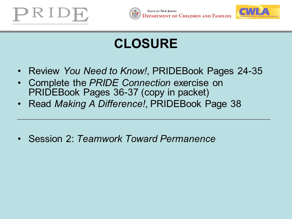 CLOSURE Review You Need to Know!, PRIDEBook Pages 24-35