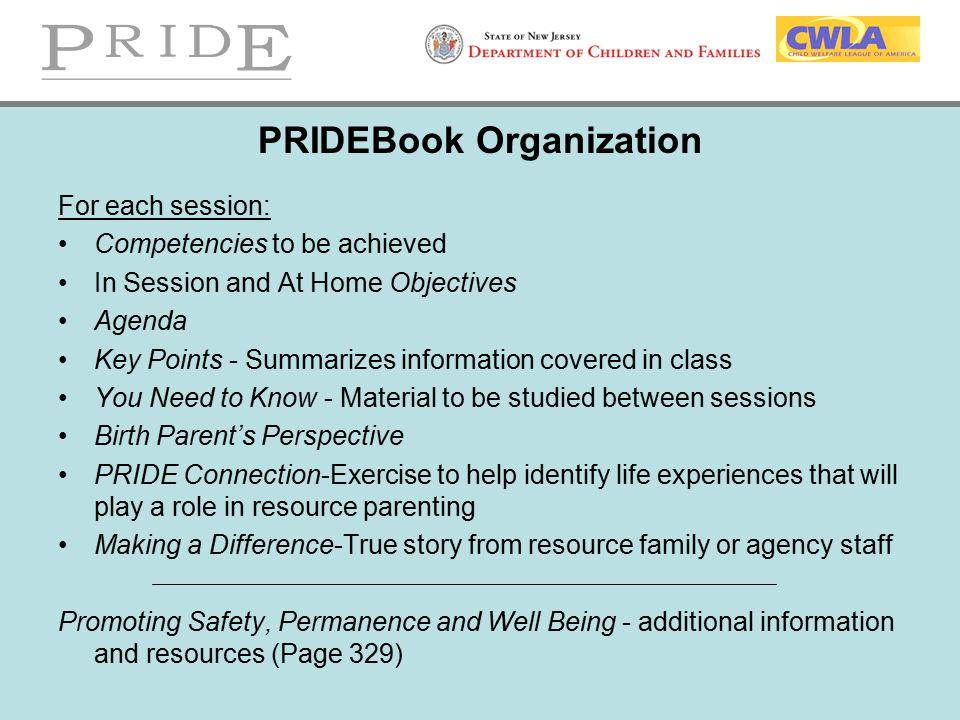 PRIDEBook Organization