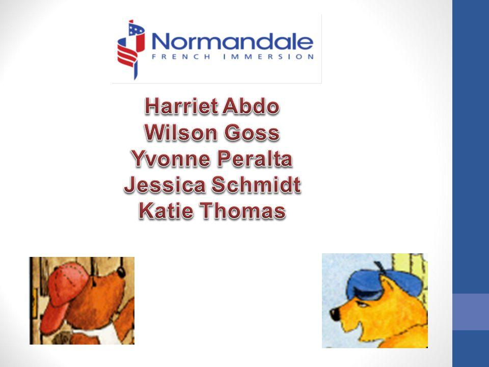 Harriet Abdo Wilson Goss Yvonne Peralta Jessica Schmidt Katie Thomas