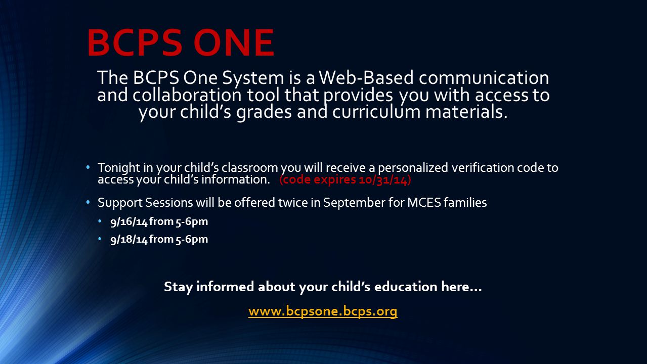 Stay informed about your child's education here…