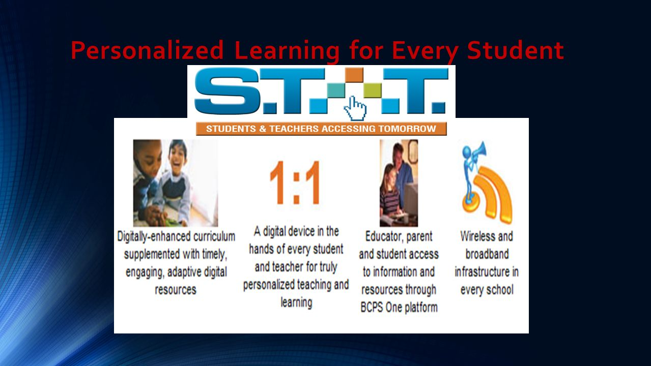 Personalized Learning for Every Student