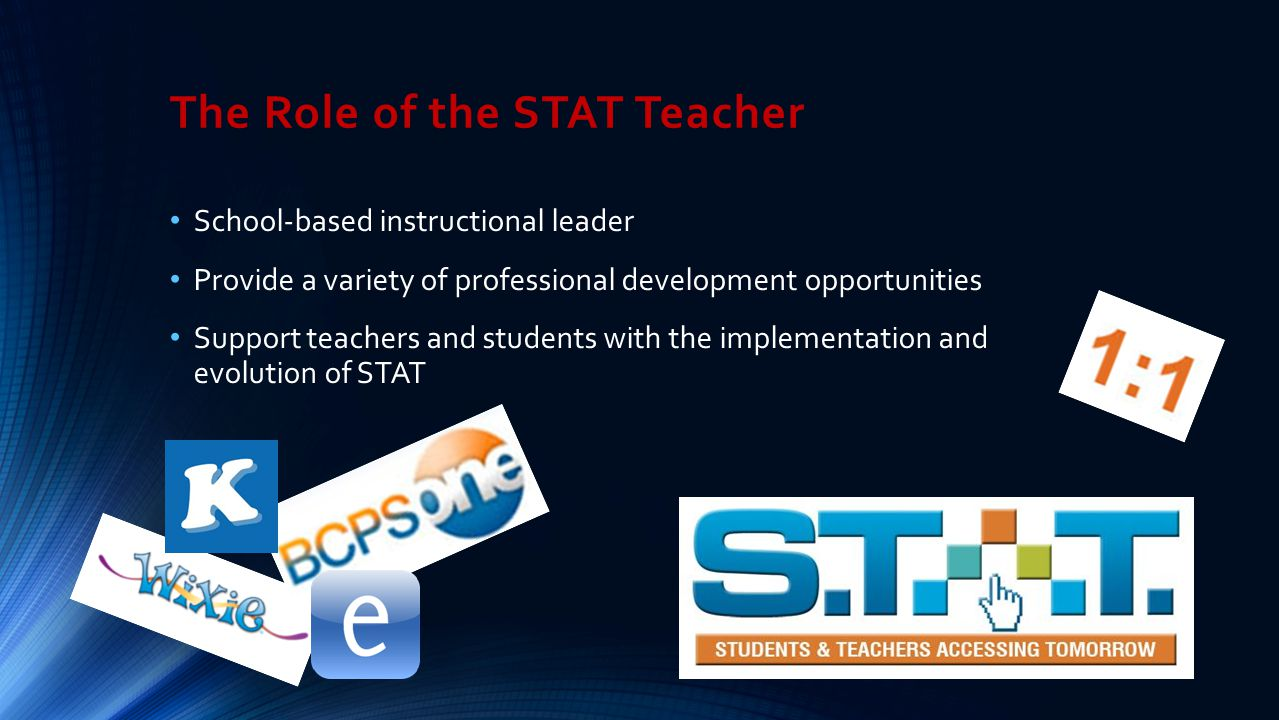 The Role of the STAT Teacher