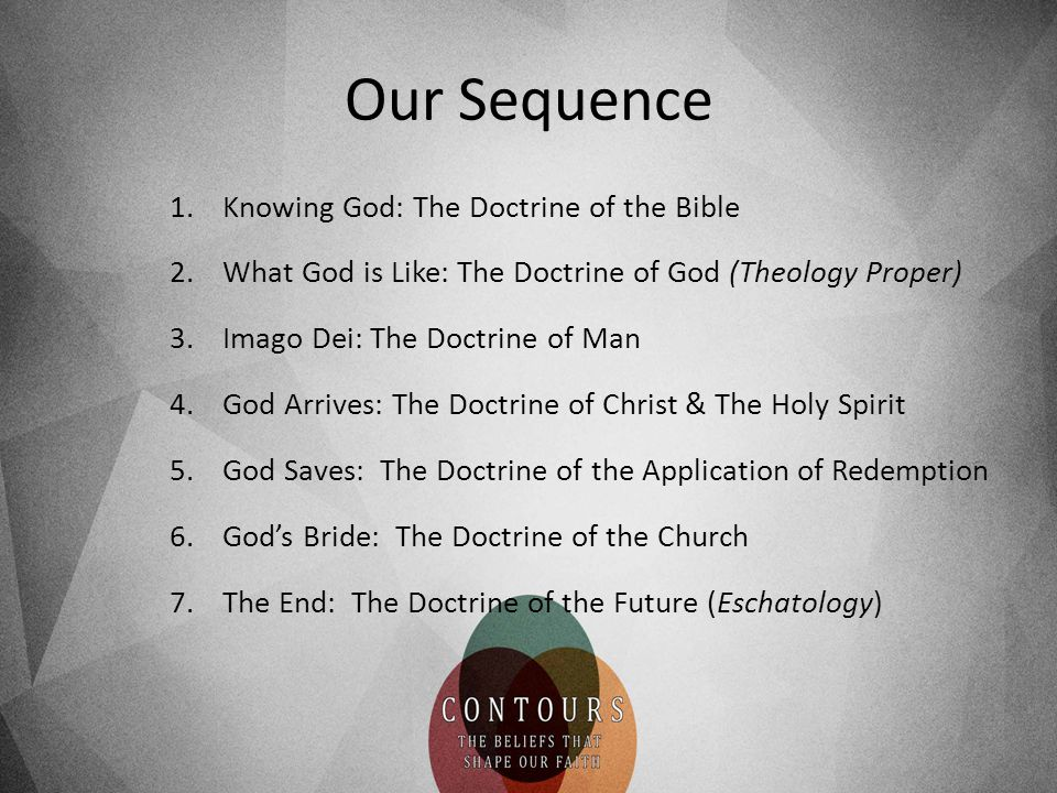 Our Sequence Knowing God: The Doctrine of the Bible