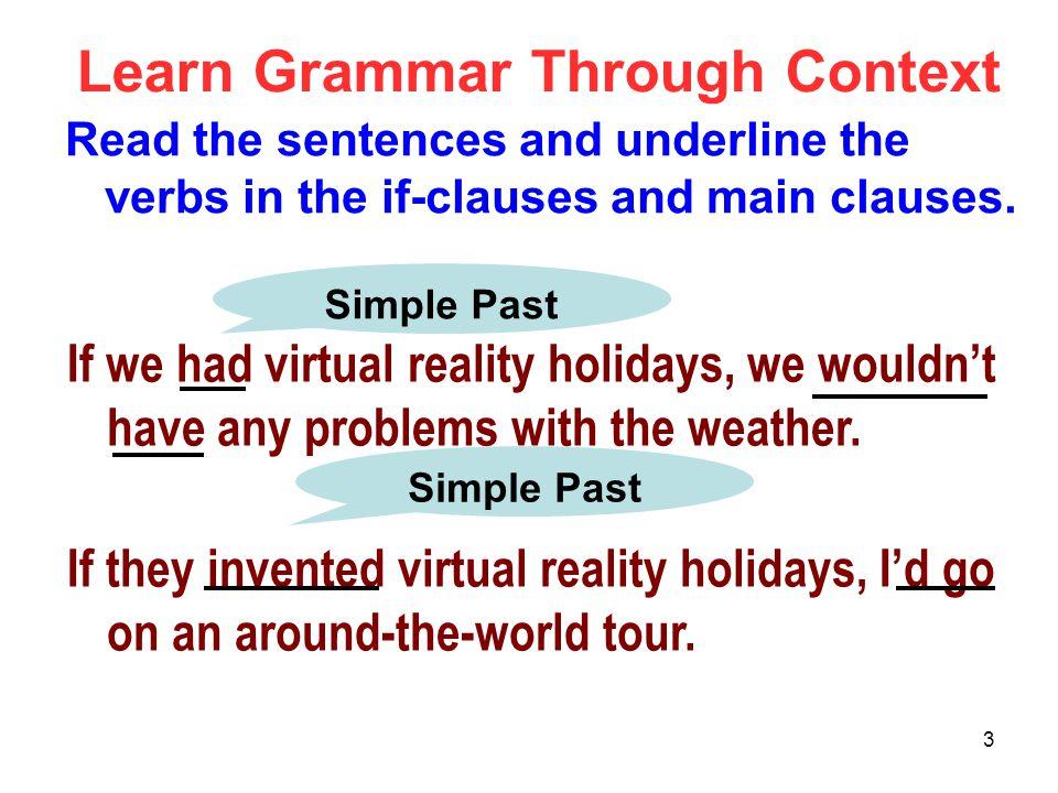 Learn Grammar Through Context