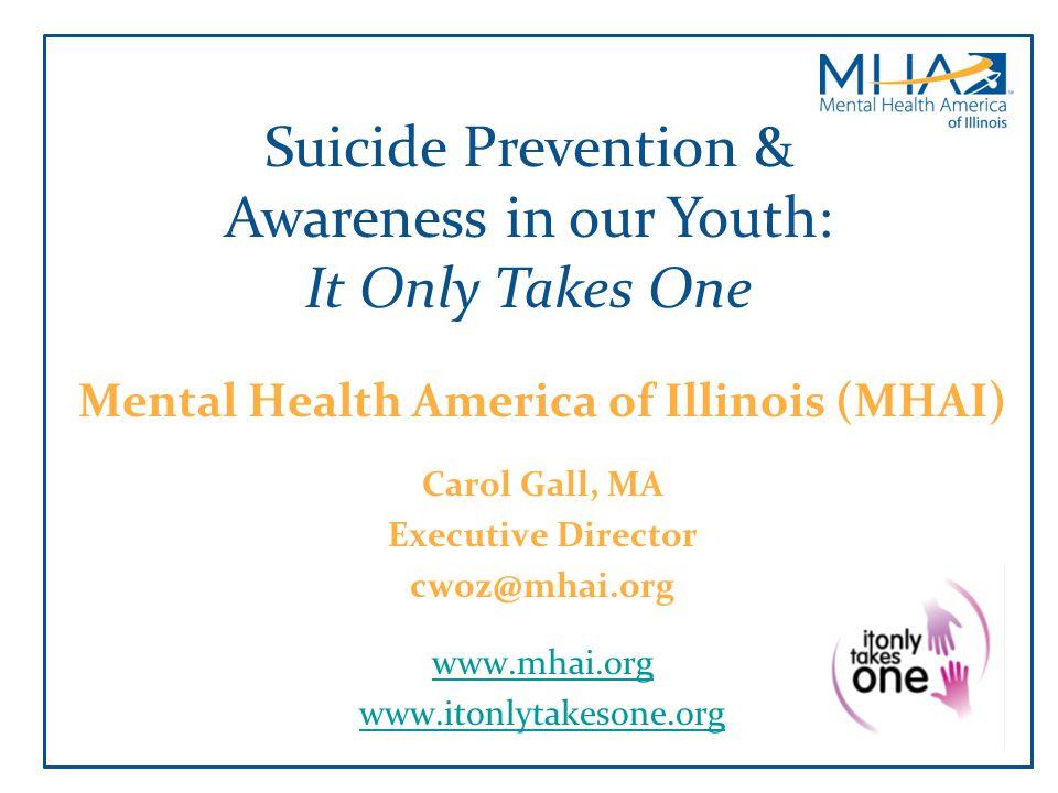 Mental Health America of Illinois (MHAI)
