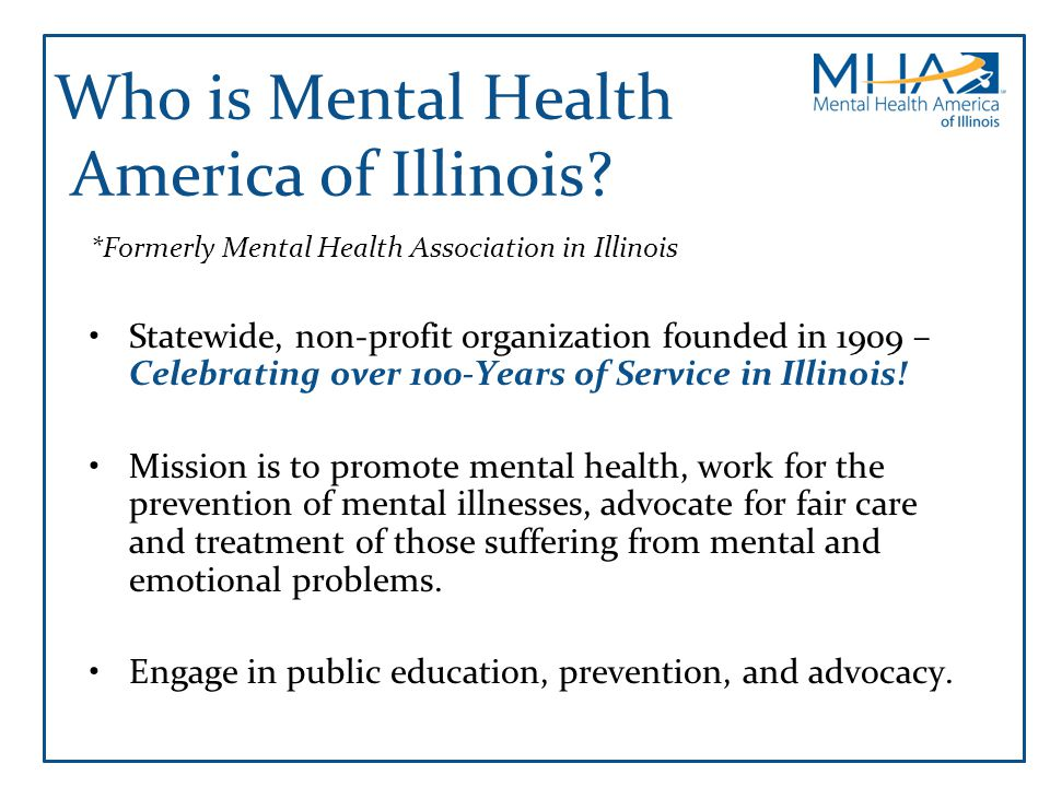 Who is Mental Health America of Illinois