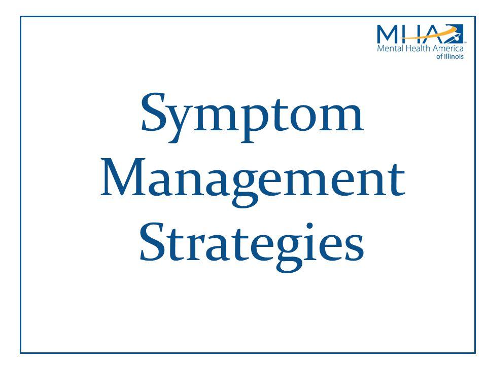 Symptom Management Strategies