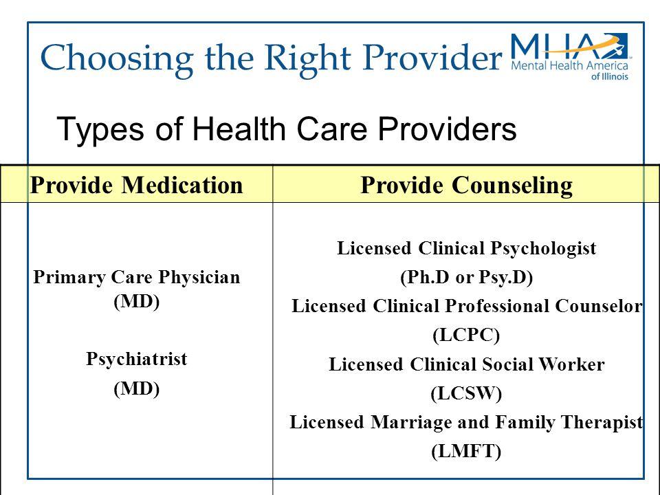 Choosing the Right Provider
