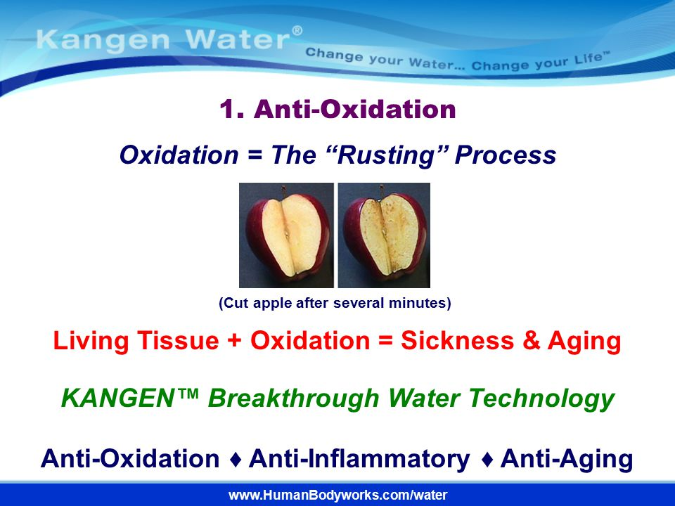 Oxidation = The Rusting Process