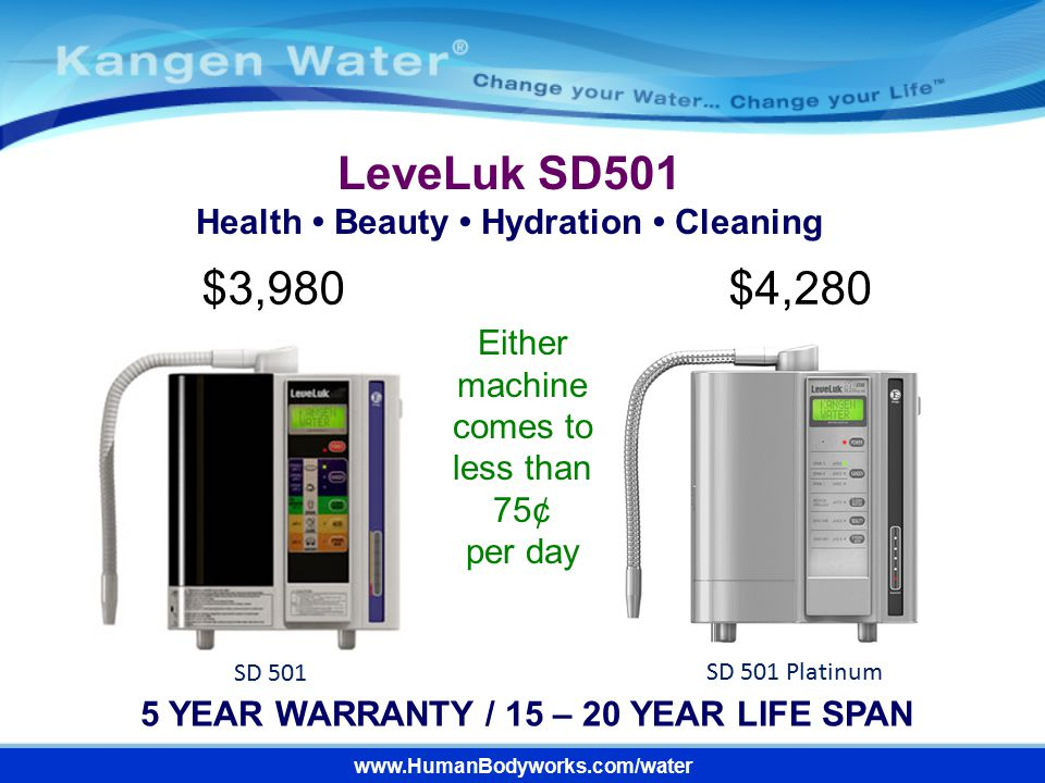 LeveLuk SD501 $3,980 $4,280 Health • Beauty • Hydration • Cleaning