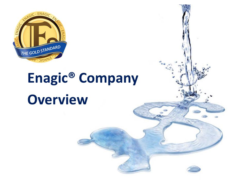 Enagic® Company Overview