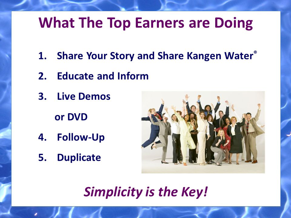 What The Top Earners are Doing