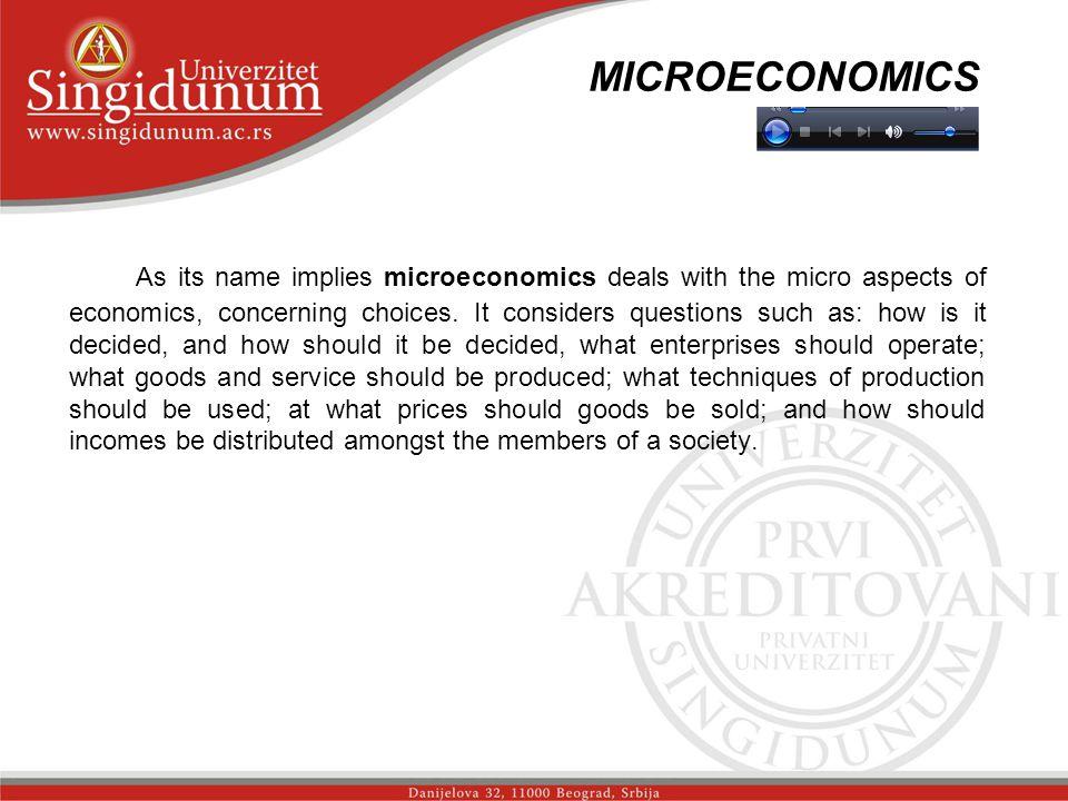 MICROECONOMICS str. 1