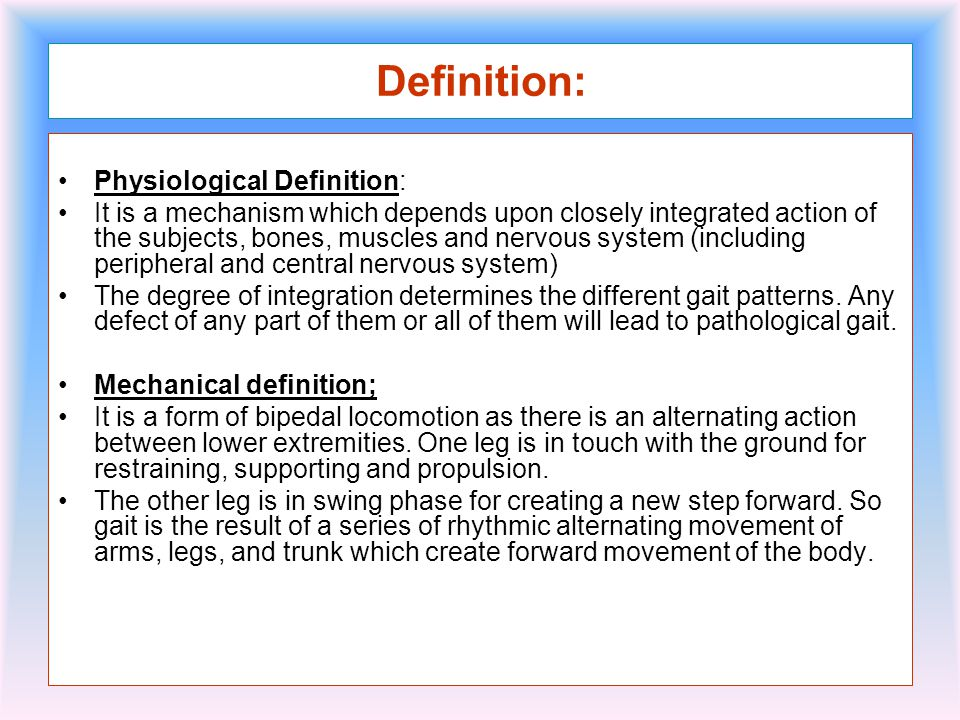 Normal gait ppt video online download for Floor action definition