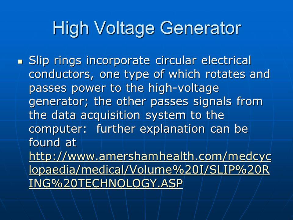 High Voltage Generator