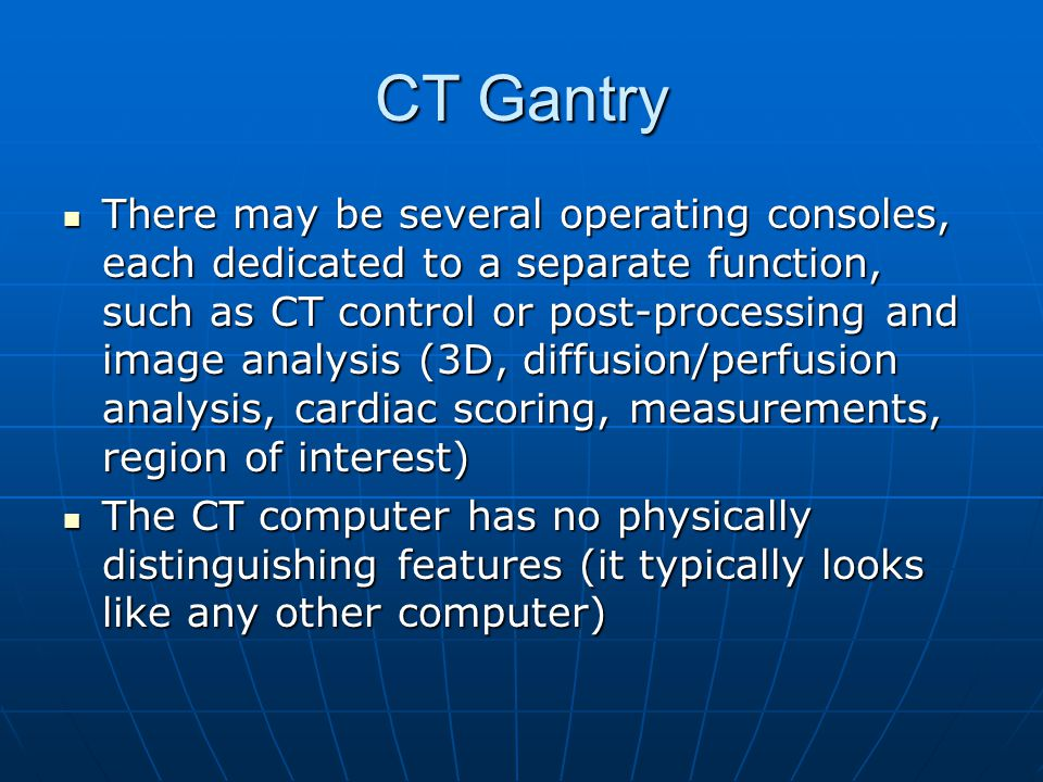 CT Gantry