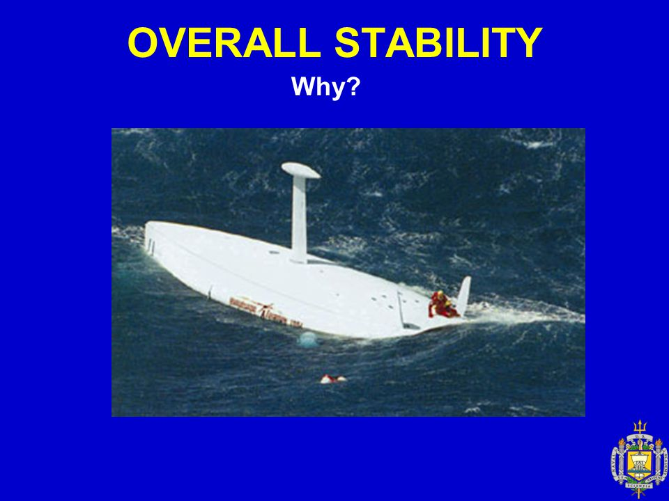 OVERALL STABILITY Why
