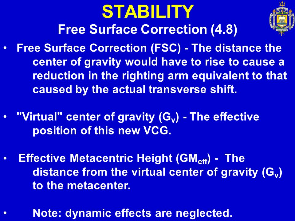 Free Surface Correction (4.8)
