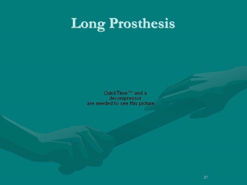 Long Prosthesis