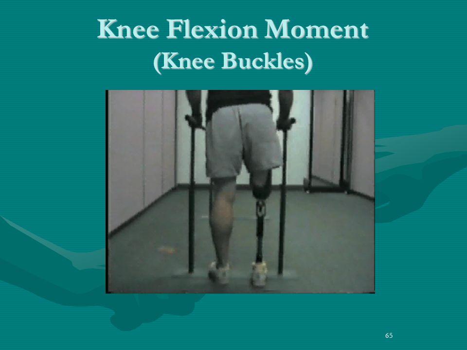 Knee Flexion Moment (Knee Buckles)