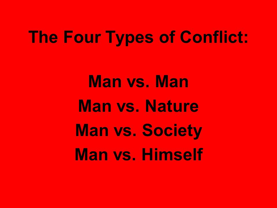 The Four Types of Conflict: