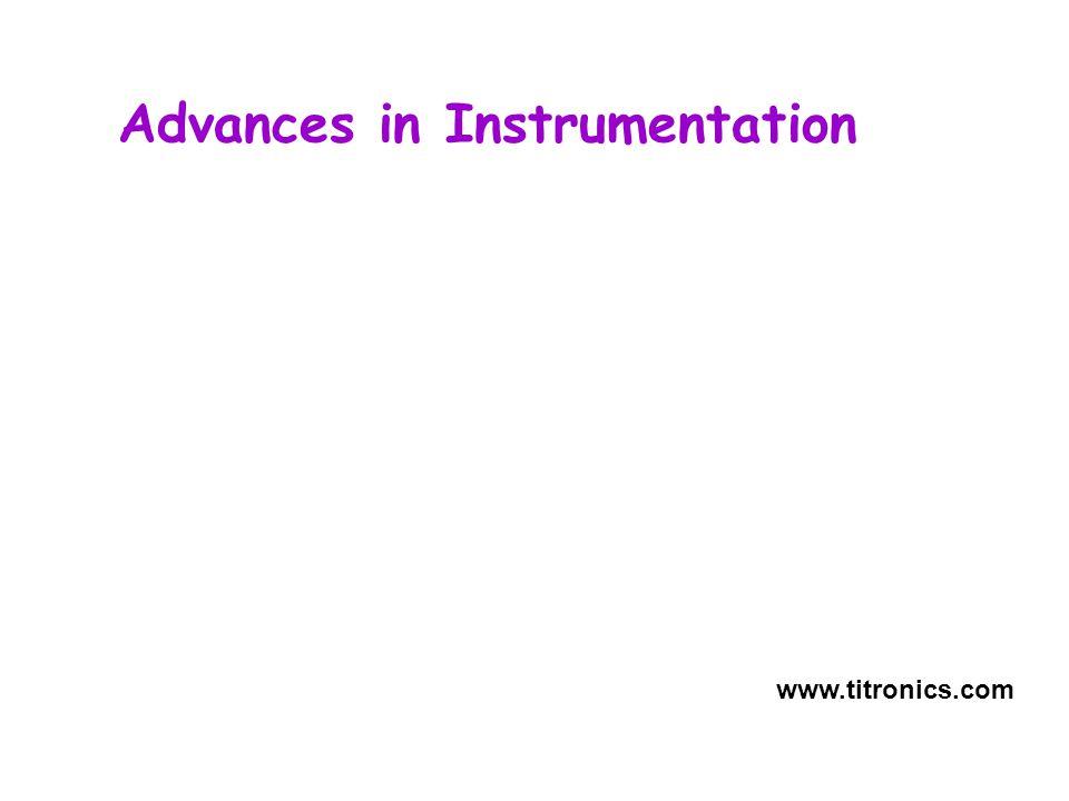 Advances in Instrumentation