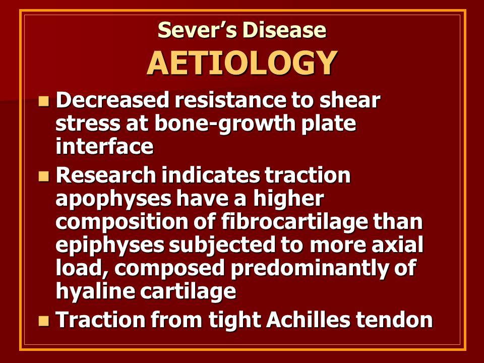 Sever's Disease AETIOLOGY